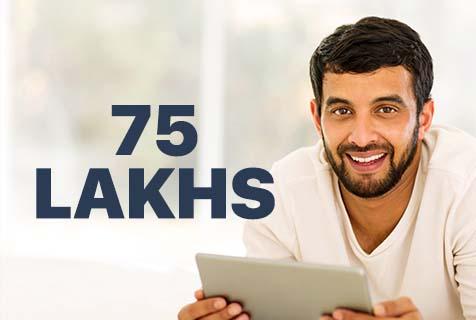 75 Lakhs Term Insurance